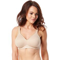 18 Hour Seamless Smoothing Bra by Playtex helps smooth back and side  bulges. This bra f8d316ff654