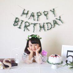 一年に一度の特別な日♡準備しておきたい「写真映えする誕生日グッズ」特集