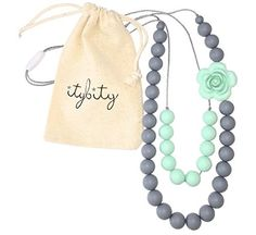 Baby Teething Necklace for Mom, Silicone Chew Beads, 100%... http://www.amazon.com/dp/B019ZY2V7Q/ref=cm_sw_r_pi_dp_W97mxb10MXYA8