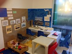 Airplane/ airport theme for Dramatic Play Center Pre-K