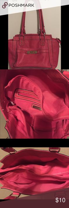 ROSETTI PURSE Fuchsia pink purse like new .  Please see put for all details. Rosetti Bags Shoulder Bags