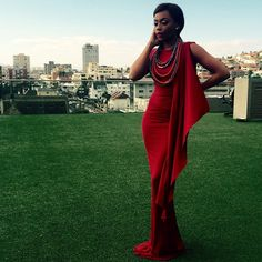 "Bonang ""B*"" Matheba @bonang_m .....dress by @ge...Instagram photo 