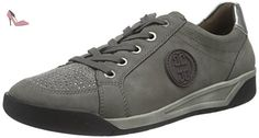 Jenny Seattle, Sneakers basses femme - Gris (graphit,street/gun 06), 37.5 - Chaussures jenny (*Partner-Link)