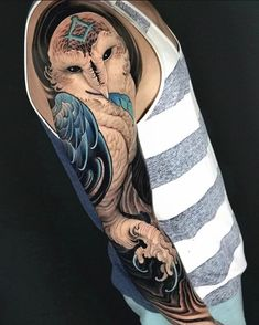 Search inspiration for a New School tattoo. Picture Tattoos, Tattoo Photos, Neo Traditional Tattoo, Tattoo Supplies, New Tattoos, Body Tattoos, Angel Tattoo Men, Lower Back Tattoos, Big Tattoo