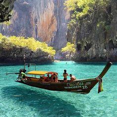 Maya Bay, Phi Phi Island, Thailand  Photo by @umutkiziltan #TourThePlanet