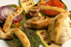 Vegetables and fruit are delicious when grilled! All you need is a little oil and a touch of salt (for veggies) or sugar (for fruit) and you're ready to go.    Pastapalooza Contest Inspiration – Grilled Veggies & Fruits! Enter your inspired recipe here: http://on.fb.me/pastasaladcontest (contest ends August 31, 2012)