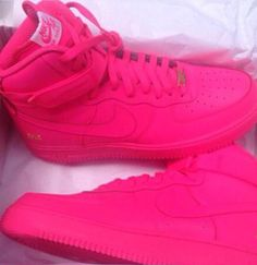 Kids girl hot pink nike