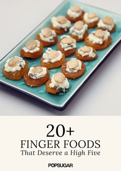 Finger Food Recipes | POPSUGAR Food