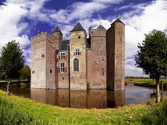 "The castle ""Slot Assumburg"" in Heemskerk, The Netherlands. | by Rene Nijman"