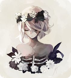 Trendy Flowers Girl Pictures Anime Art – Trend Art ideas on World Fan Art Anime, Anime Art Girl, Anime Girls, Art Manga, Manga Anime, Flower Girl Pictures, Art Anime Fille, Wie Zeichnet Man Manga, Art Mignon