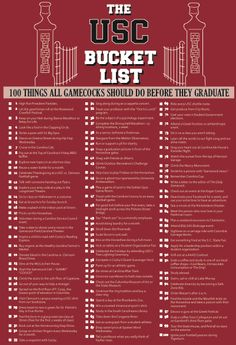 100 Things All Gamecocks Should Do Before They Graduate