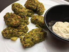 Brokkoli krokett – amit minden diétázónak ismernie kell! | Peak girl Falafel, Food And Drink, Herbs, Healthy Recipes, Vegetables, Bulgur, Veggies, Falafels, Herb
