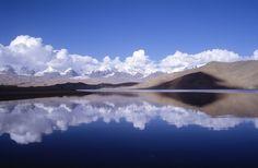 The Karakul is a lake located 196 km from Kashgar,Xinjiang province, China.