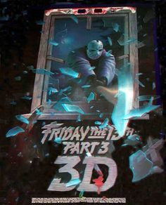 poster for Friday the 13th 3-D