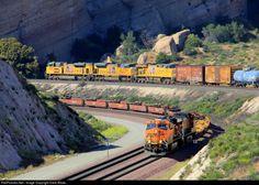 RailPictures.Net Photo: BNSF 7505 BNSF Railway GE ES44DC at Cajon Pass, California by Dave Blaze...