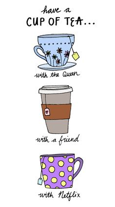 Have a cup of tea with...