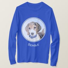 Beagle Painting - Cute Original Dog Art T-Shirt  maltese poodle puppy, guy with puppy, labrador puppy training #cats #dogsofinstagram #dogmania, back to school, aesthetic wallpaper, y2k fashion Snoopy Beagle, Baby Beagle, Beagle Funny, Funny Dogs, Beagle Gifts, Dog Gifts, Maltese Poodle Puppies, Labrador Puppy Training, Cute Beagles