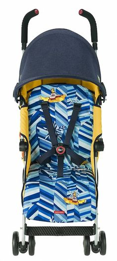 Yellow Submarine stroller?! My baby needs this.
