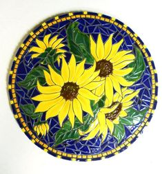 mosaic sunflowers