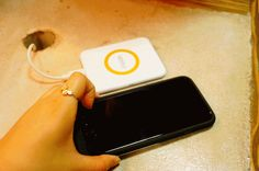 Freedy iPhone6 Wireless Charging Case + Freedy Mini Wireless Charger From Customer's Blog