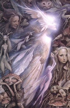 The Owl Queen; Brian Froud