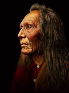Wise Native American Elder