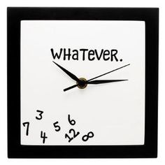 Perfect for someone who's always 15 minutes late....not suggesting anything about myself..