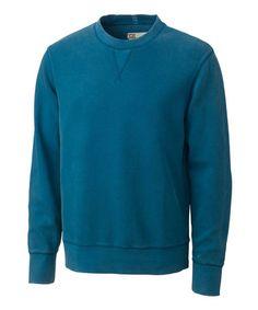 Another great find on #zulily! Blue Fairfield Crewneck Sweatshirt - Men #zulilyfinds