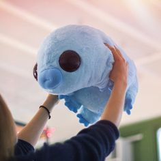 Stuffed Water Bear (tardigrade plush) – Dekoration und diy's(decoration and diy's) Sewing Stuffed Animals, Cute Stuffed Animals, Tardigrade, Blobfish, Plushie Patterns, Softie Pattern, Pattern Sewing, Cute Pillows, Creation Couture
