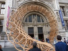 For the London Design Festival, award-winning architects Amanda Levete Architects (AL_A) and engineering firm Arup have simultaneously framed and opened up the Cromwell Road entrance to the V&A.