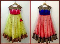 Latest LEHENGA design's Lehenga, langa voni are unique and traditional dress from India. Mostly worn by brides and girls during . Half Saree Designs, Choli Designs, Lehenga Designs, Dress Designs, Blouse Designs, Indian Designer Outfits, Designer Dresses, Indian Dresses, Indian Outfits