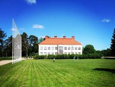Finnish Lutheran Mission, headquarters in Ryttylä, Finland. Lutheran, Finland, In This Moment, Mansions, House Styles, Home Decor, Pastor, Decoration Home, Manor Houses