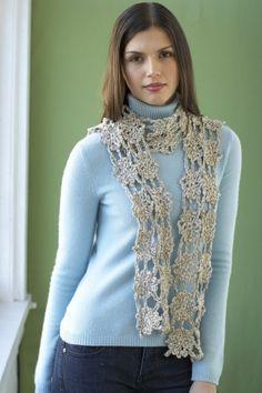 Free Crochet Pattern: Perennial Scarf