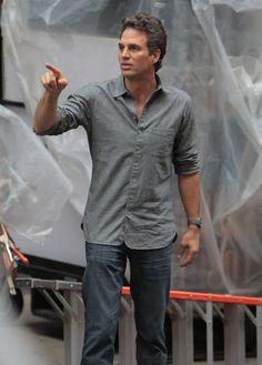 Mark Ruffalo. Damn he's hot.