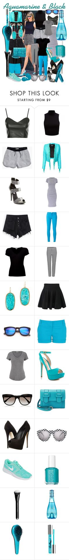 """""""Untitled #254"""" by jennvsjewels ❤ liked on Polyvore featuring Topshop, Forever New, Madewell, Balmain, Steve Madden, Monrow, 7 For All Mankind, James Perse, Diane Von Furstenberg and Kendra Scott"""