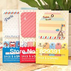 1PC London Style cartoon series Memo Pads,cute funny sticky note(ss-1210) #Affiliate