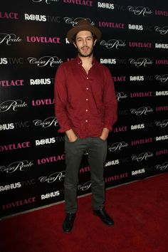 Adam Brody at the Lovelace premiere