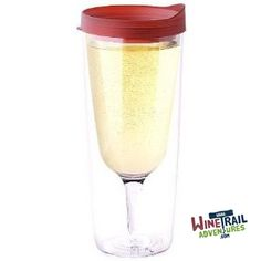 XL VIno2go wine cup!  The next generation of the hugely popular Vino2go.  Holds even more wine for #wine #lovers