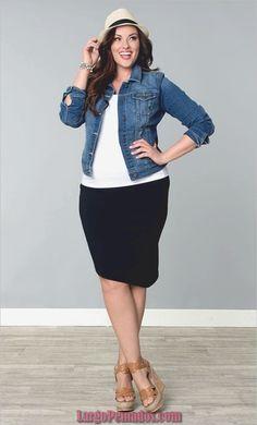 a4142ef4c 45 ideas atractivas para ropa de trabajo para mujeres de talla grande