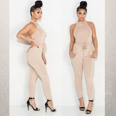 Jumpsuits suit every body! Grab yours today and live the vain life! http://qoo.ly/88qpb/0