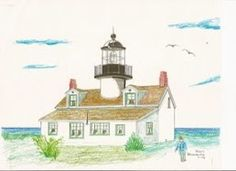 Point Pinos Lighthouse, Montery, Ca