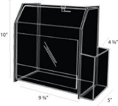Box, lock brochure