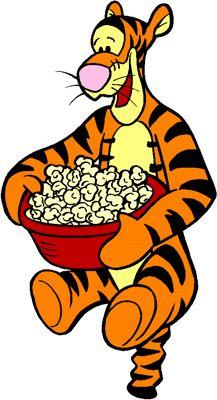 tigger-popcorn-01 Tigger Disney, Tigger Winnie The Pooh, Winnie The Pooh Quotes, Winnie The Pooh Friends, Pooh Bear, Love Is Cartoon, Cartoon Art, Cartoon Characters, Eeyore Pictures