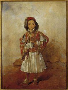ΠΙΣΩ ΣΤΟ 1821.. | 1o NΗΠIAΓΩΓEIO MEΓAΛOΠOΛHΣ 25 March, Royal Guard, Dancer, Folk, Military, History, Painting, Historia, Popular