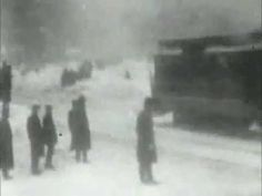 first film footage of New York City during a monster snowstorm. It was filmed for the Edison Manufacturing Co. on February 17, 1902,