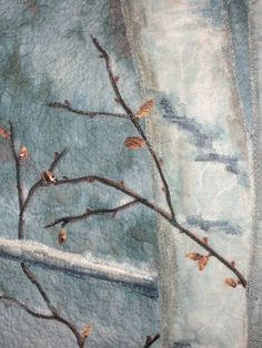 landscape quilting/quilting tips/how to quilt/Natalie Sewell | Nancy Zieman Blog