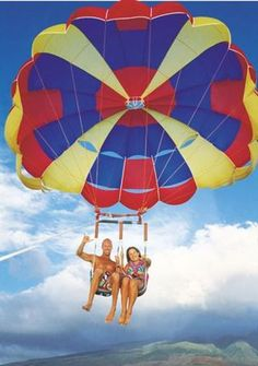West Maui Parasailing offers great deals!
