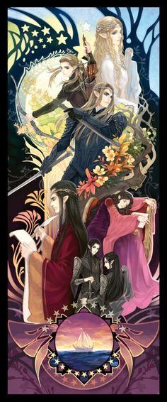 Elves Art Print