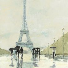 Valokuvatapetti - Avery Tillmon - April in Paris