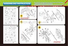 3d wooden dragon puzzle instructions